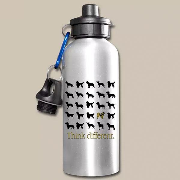 Eurasier Geschenk Idee Trinkflasche