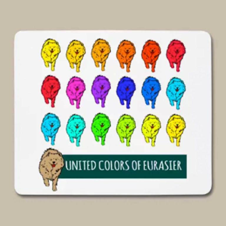 Eurasier Geschenk Tipp / Idee Mousepad