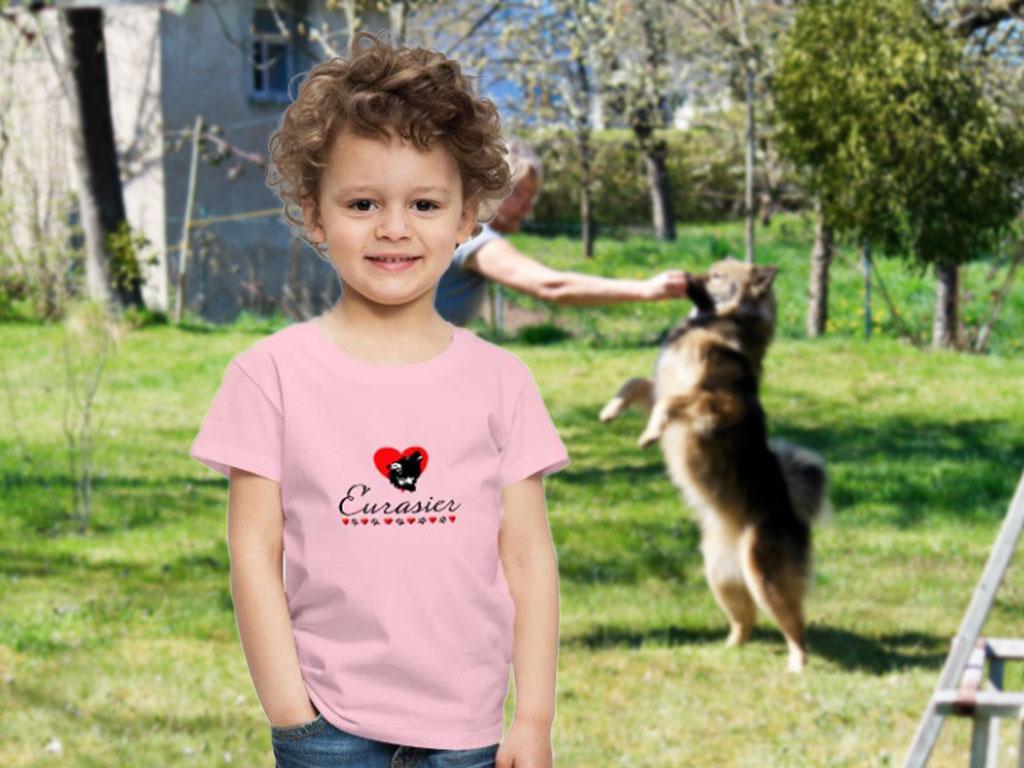 Eurasier Kindermode T-Shirt