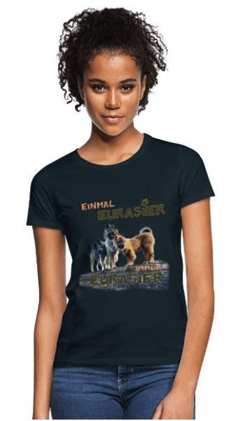 Eurasier T-shirt Auftragsarbeit
