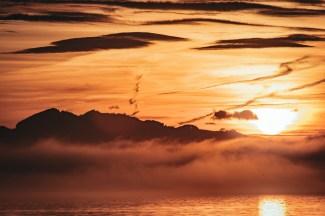 irgendwie Nebel, Wolken und Licht
