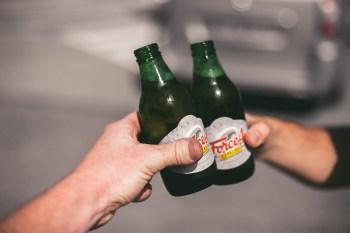 Force, nur 0,8% Alkohol - schmeckt am besten mit Roofies