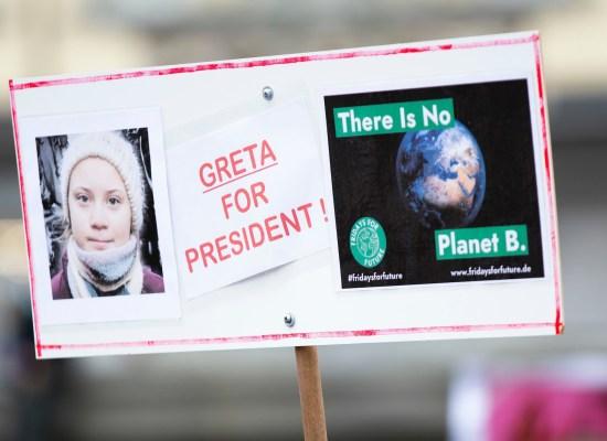 Greta Planet B étudier la science politique