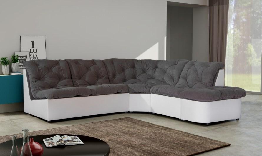 Le canapé d'angle : le meuble déco qui vous fait gagner de l'espace