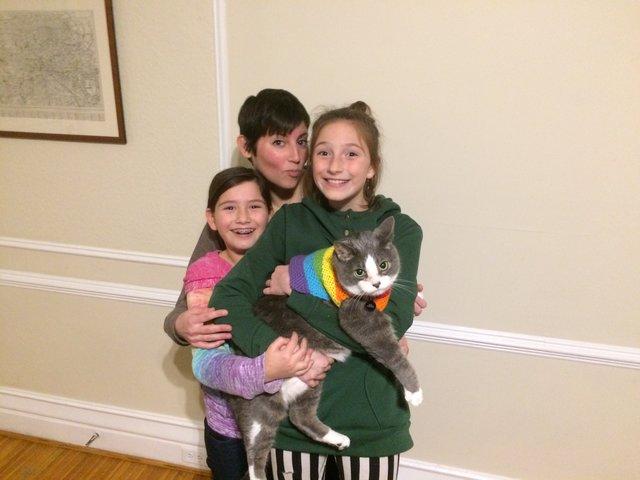 猫と子供達