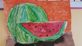 Age 6-8 Watermelon