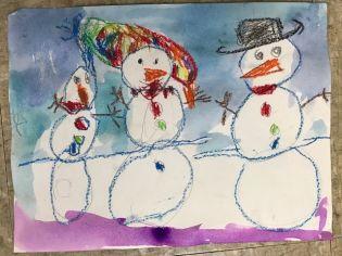 Snowman 4yo