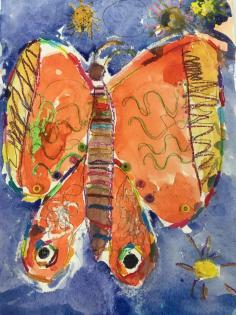 3yo Butterfly
