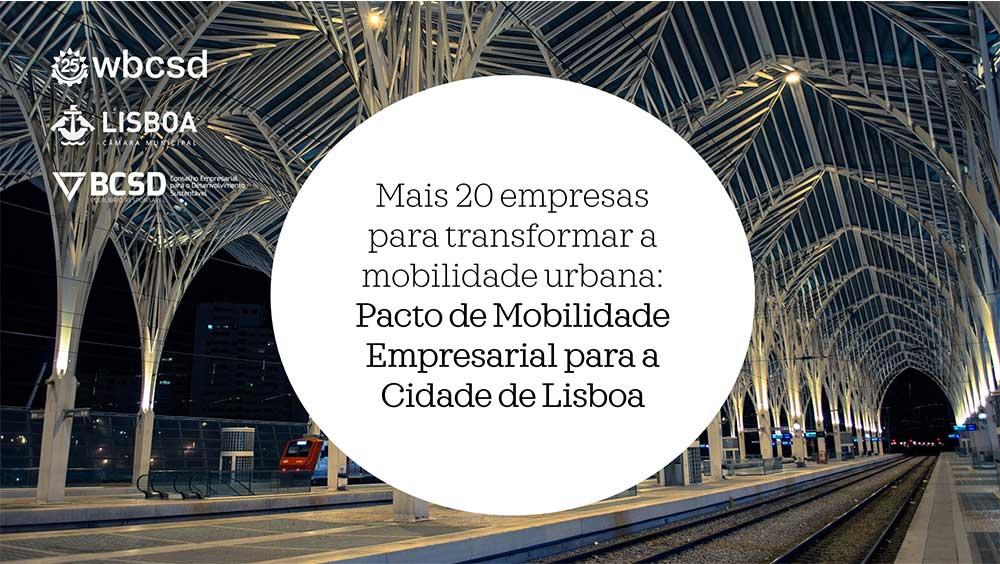 Pacto Mobilidade Lisboa
