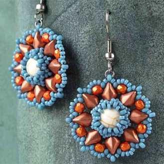 Primrose-earrings