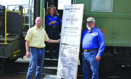 Robinson Nevada Mining, NNRy offers free train rides