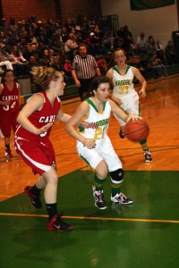 The Eureka County High girls' basketball team kicked off its conference schedule in grand fashion with a pair of double-digit wins at home last week.