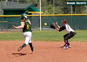 One way or another, the season was going to come to an end for the Eureka County High softball team in the Division IV State Tournament in Reno