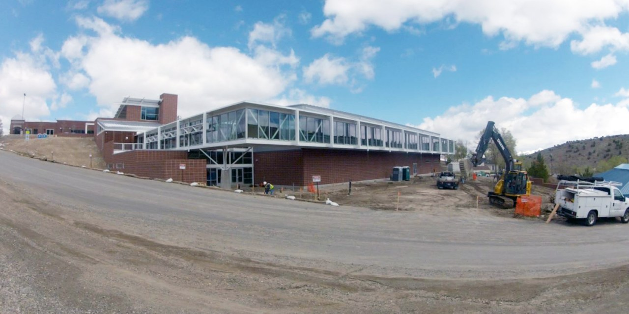 New Eureka County High gym set to open