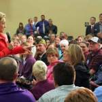 Clinton talks economy, guns, public lands in Elko