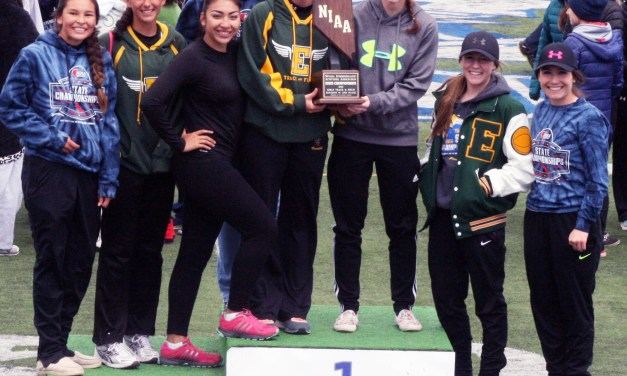Eureka track girls runners-up at state