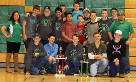 Eureka Junior High hoops team wraps up successful season