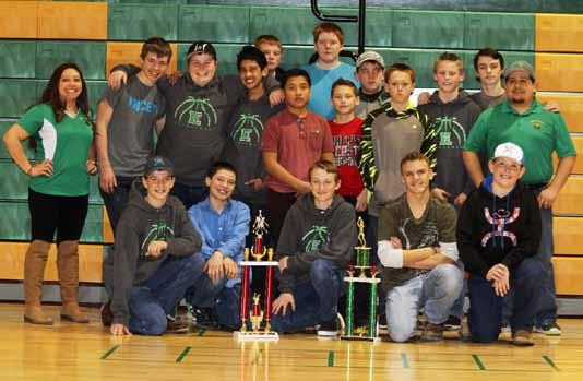 Eureka Junior High hoops team wraps up successful season