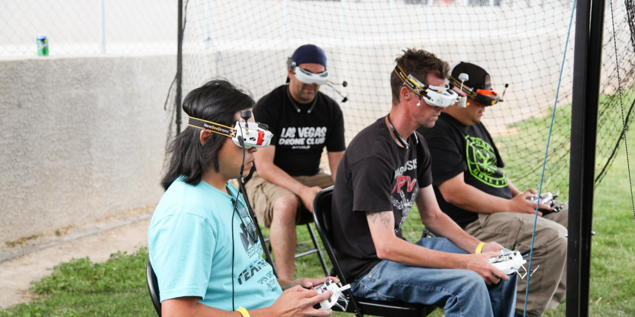 Drone Racing Showcased at Event in Alamo