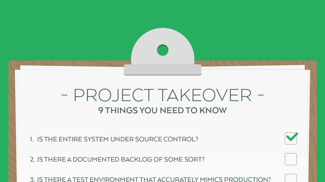 9 Things you need to know when taking over a software project Eureka Software
