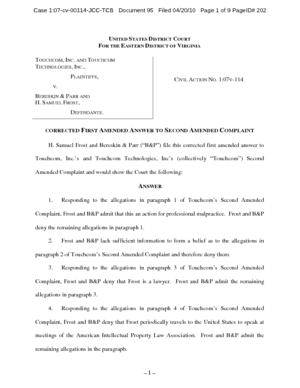 touchcom-inc-vs-bereskin-and-parr-amended-answer-to-complaint