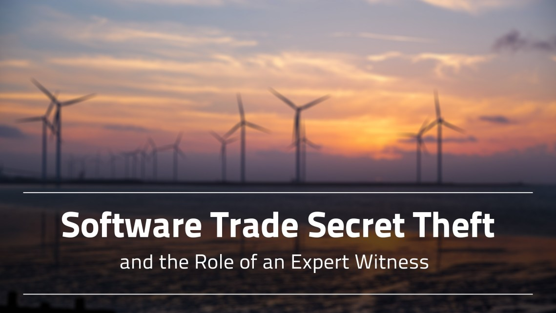 Software Trade Secret Theft and the Role of an Expert Witness