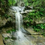 Eureka Springs Waterfall