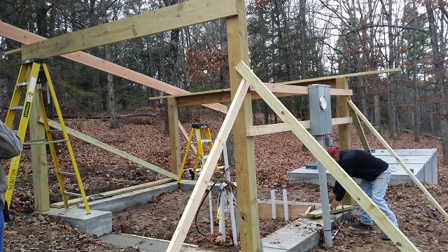 Well House Timber Framing