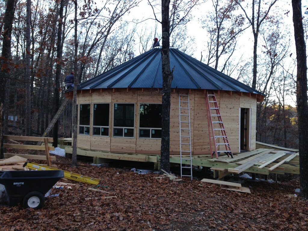 Yurt Half Roof
