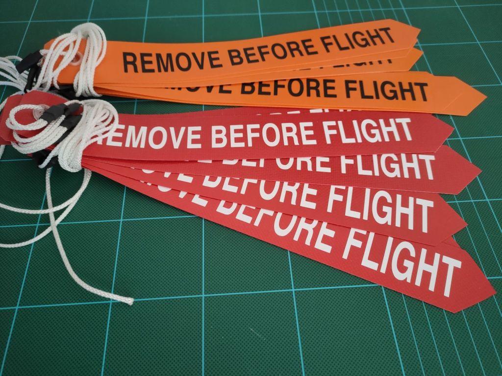 Flammes aéronautiques personnalisées