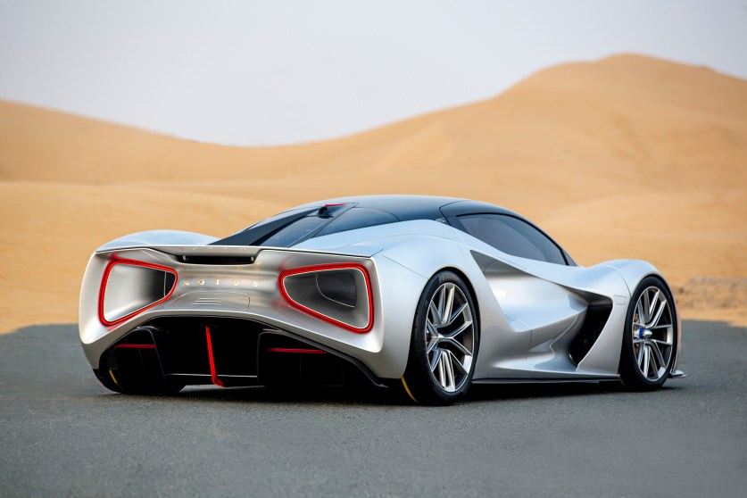 Lotus Evija UAE - 7
