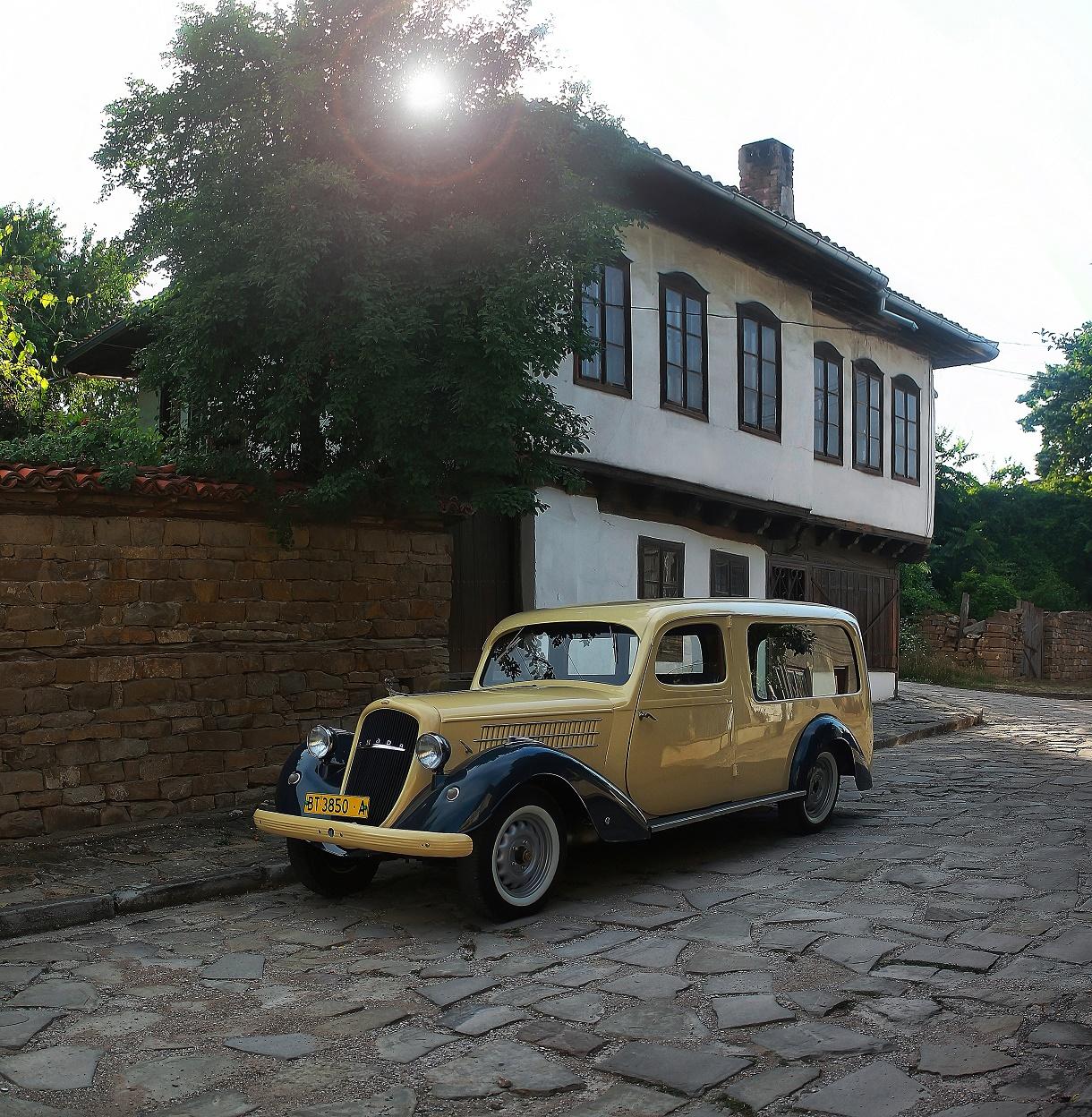 5-Škodа Superb II-1937 год.