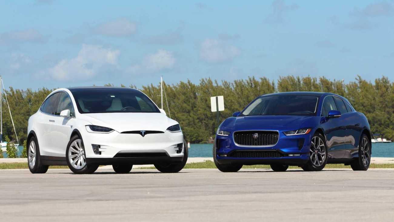 2019-jaguar-i-pace-vs-2018-tesla-model-x-comparison