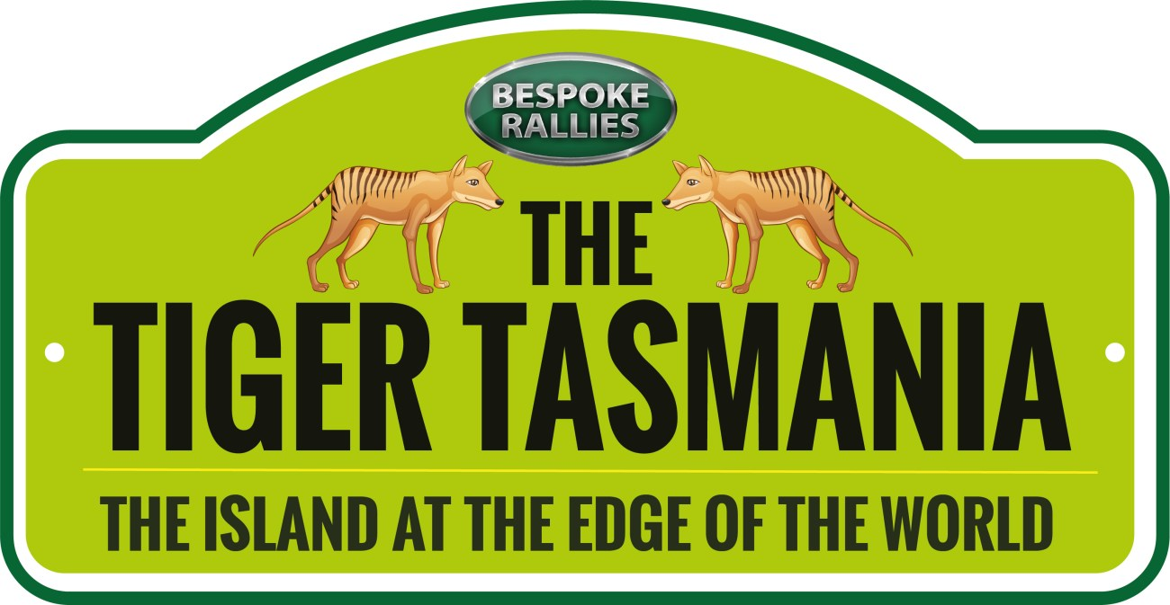 TIGER TASMANIA RALLY PLATE