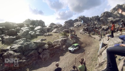 DiRT Rally 2.0TM in wild nature
