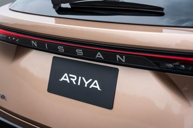 NissanAriyabadge_Rear