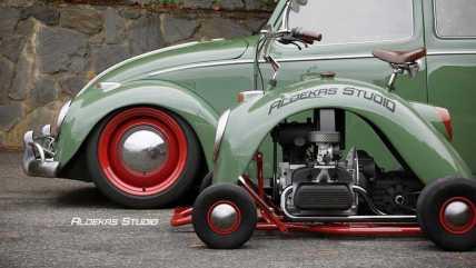 go-kart-vw-beetle-fender---side-by-side-profile