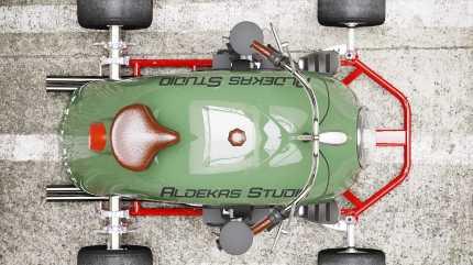 go-kart-vw-beetle-fender---top-view