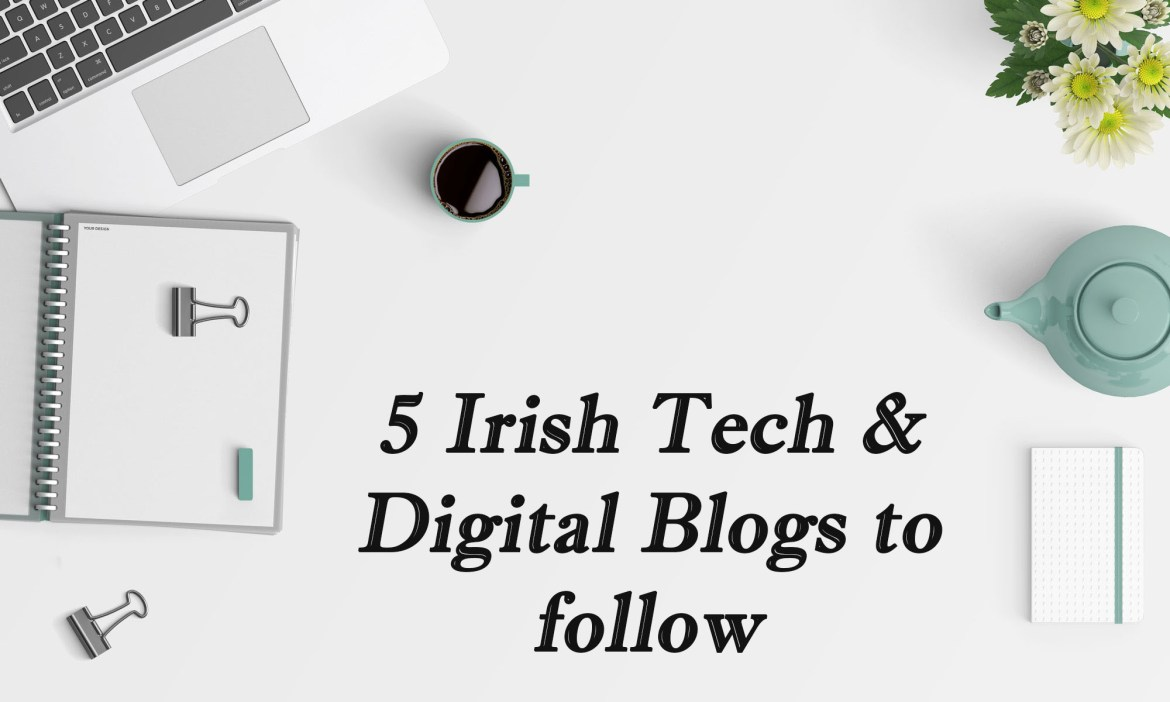 Image top 5 tech and digital blogs to follow