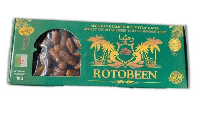 "Conventional  Deglet Nour "" Pitted Dates"" bulks 9 kg/ 5kg/ 1kg"