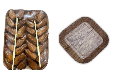 Conventional Dates Deglet Nour ' Ravier'( Carton Trays ) boxes of 6kg . Whole Dates or Pitted Dates