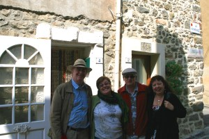 Peter, Kaye, Ian, Lisette at Talairan