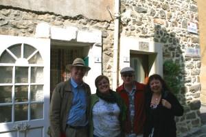 Peter, Kaye, Ian, Lisette at Talairan