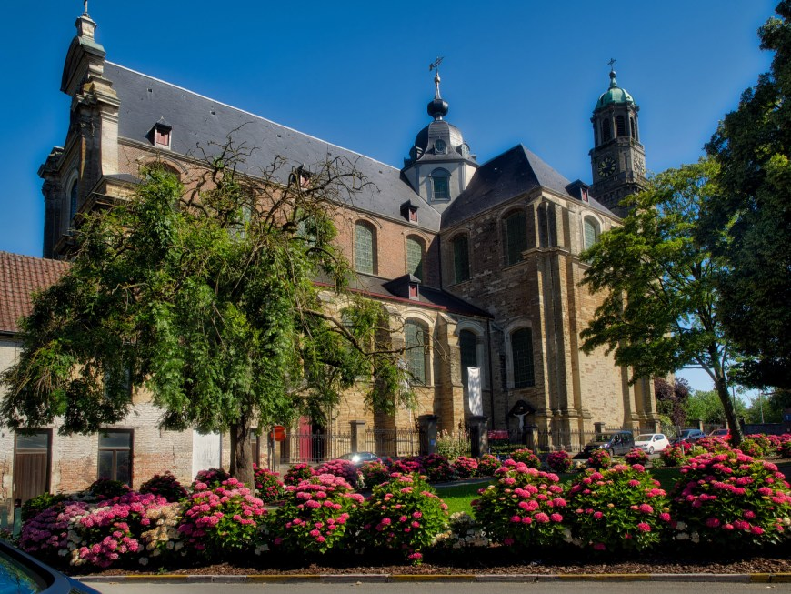 Abbey church in Ninove.