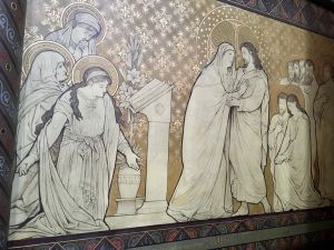 Murals by J. Van Der Plaetsen (1885-1887) and E. Messeyne (1889)