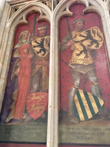 Margaret II Countess of Flanders and William Dampierre (ruled 1244-79); Guy (ruled 1278-1305)