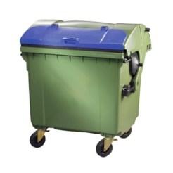 Мусорный контейнер 1100 литров MGBS 1100 (k/k)