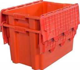 Ящик с крышкой 600x400x415 сплошной Арт.605-1