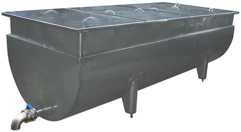 Ванна творожная ИПКС-021-2500П(Н)
