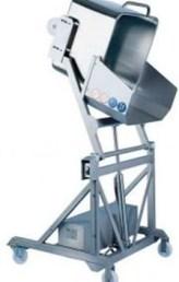 Подъемник опрокидыватель для тележек (чебурашек)
